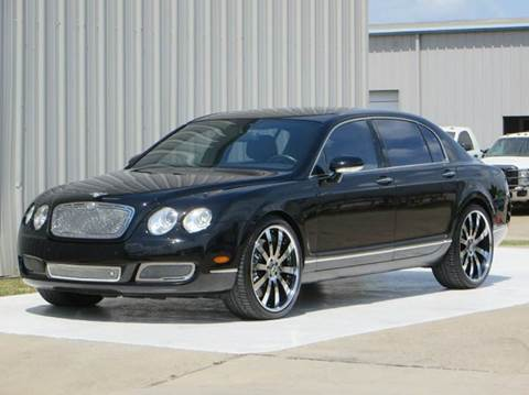 2008 Bentley Continental Flying Spur for sale at Diesel Of Houston in Houston TX