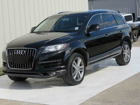 2011 Audi Q7 for sale at Diesel Of Houston in Houston TX