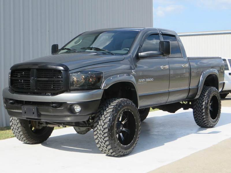 Used Ram Power Wagon >> 2006 Dodge Ram Pickup 3500 SLT 5.9 CUMMINS H.O LIFTED (CUSTOM) MONSTER 4X4 CREW SWB NEW BRAKE ...