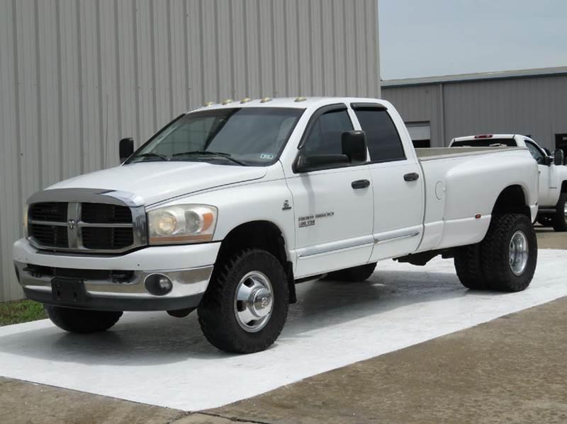 2006 dodge ram pickup 3500 slt cummins h o diesel 6 speed manual 4x4 exhaust intake in. Black Bedroom Furniture Sets. Home Design Ideas