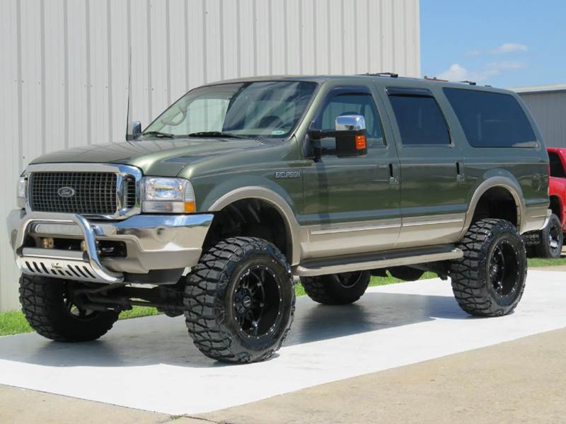 Ford Excursion Limited X L POWERSTROKE DIESEL LIFT - 2002 excursion