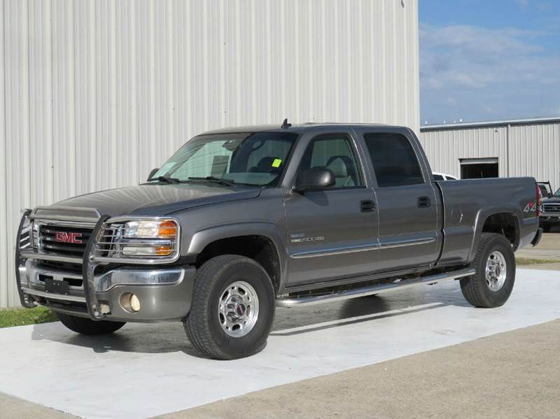 2006 gmc sierra 2500hd slt 4dr crew cab 4wd sb in houston. Black Bedroom Furniture Sets. Home Design Ideas