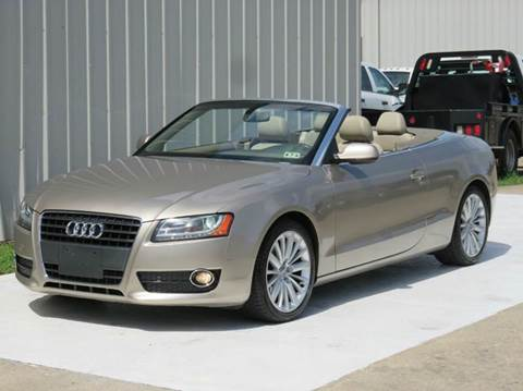 2010 Audi A5 for sale at Diesel Of Houston in Houston TX