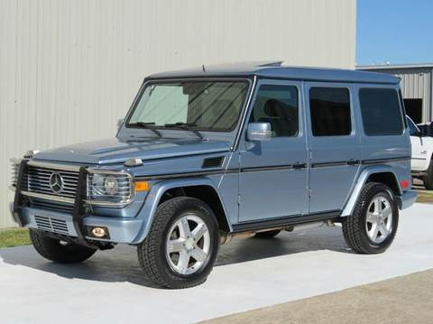 2007 Mercedes-Benz G-Class for sale at Diesel Of Houston in Houston TX