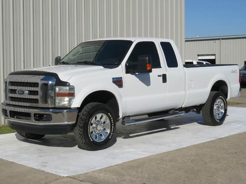 2008 ford f-350 super duty xlt supercab 6.4l diesel long-bed 4x4