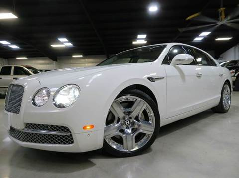 2014 Bentley Flying Spur W12 for sale at Diesel Of Houston in Houston TX