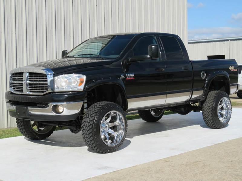 2008 dodge ram pickup 2500 slt leather 4x4 cummins diesel crew swb lifted deleted in houston. Black Bedroom Furniture Sets. Home Design Ideas