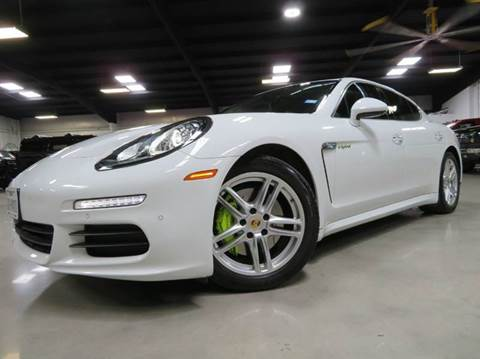 2014 Porsche Panamera for sale at Diesel Of Houston in Houston TX