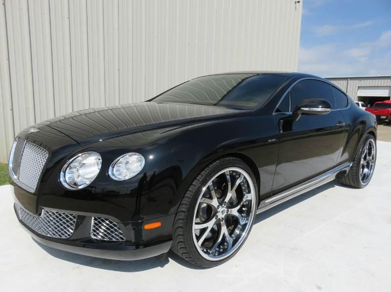 2013 Bentley Continental Gt Speed In Houston Tx Diesel Of Houston
