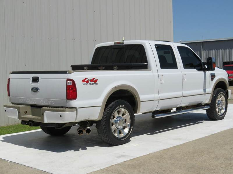2008 ford f-250 super duty 6.4l king ranch powerstroke diesel