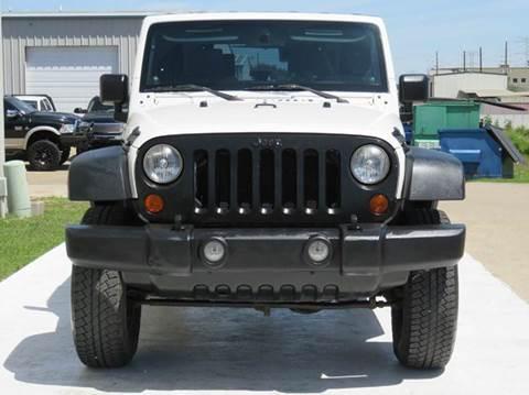2010 Jeep Wrangler for sale at Diesel Of Houston in Houston TX