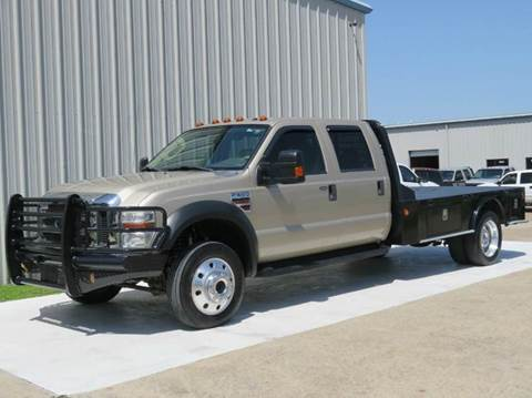2008 Ford F-550 for sale at Diesel Of Houston in Houston TX