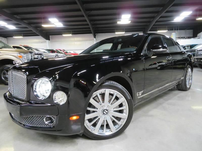 2013 Bentley Mulsanne for sale at Diesel Of Houston in Houston TX