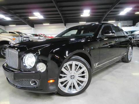 2013 Bentley Mulsanne for sale at Diesel Of Houston in Houston TX