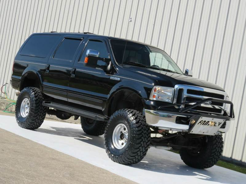 2001 ford excursion limited 7 3l diesel 4x4 fabtech lift in houston tx diesel of houston. Black Bedroom Furniture Sets. Home Design Ideas