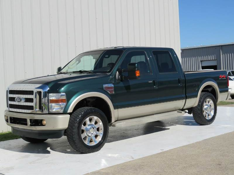 2008 ford f 250 super duty king ranch 6 4l diesel 4x4 1 owner 30 service records in houston tx. Black Bedroom Furniture Sets. Home Design Ideas