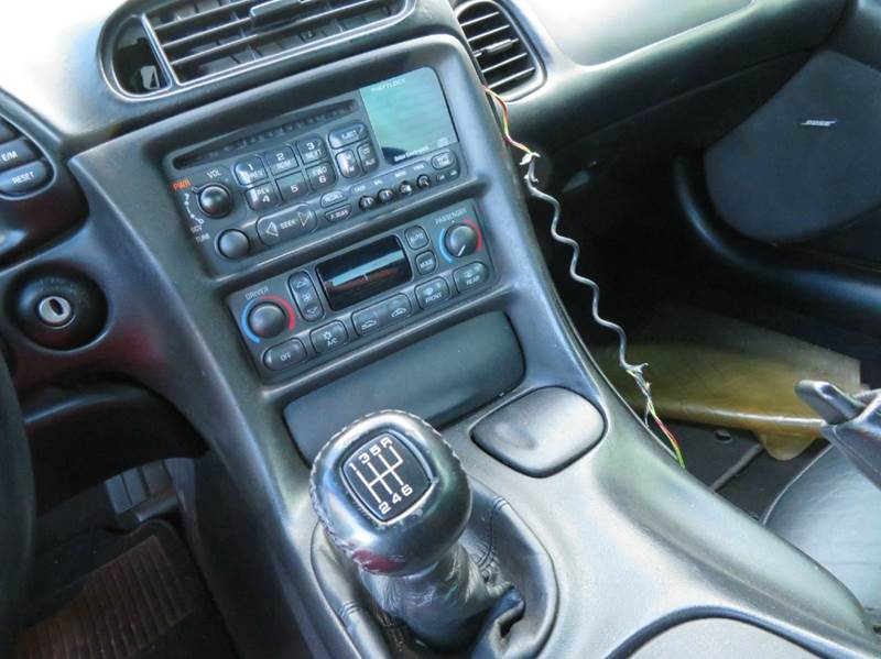 2002 Chevrolet Corvette Z06 6spd MANUAL CAMSBORLA EXHAUST