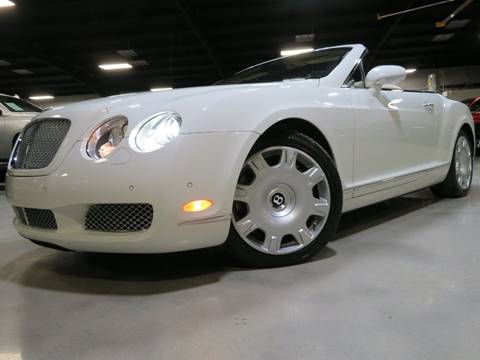 2007 Bentley Continental GTC for sale at Diesel Of Houston in Houston TX