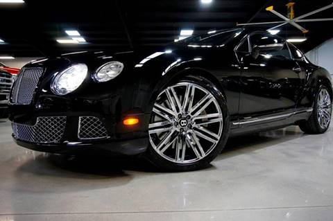 2013 Bentley Continental GT Speed for sale at Diesel Of Houston in Houston TX