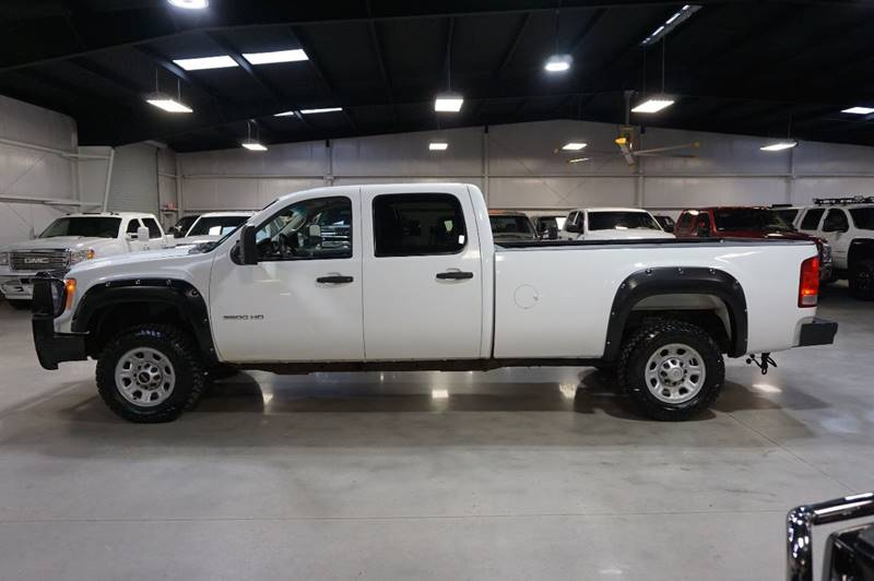 2012 GMC Sierra 3500HD 4x4 Work Truck 4dr Crew Cab LB SRW - Houston TX