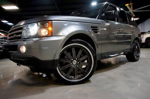 2009 Land Rover Range Rover Sport for sale at Diesel Of Houston in Houston TX