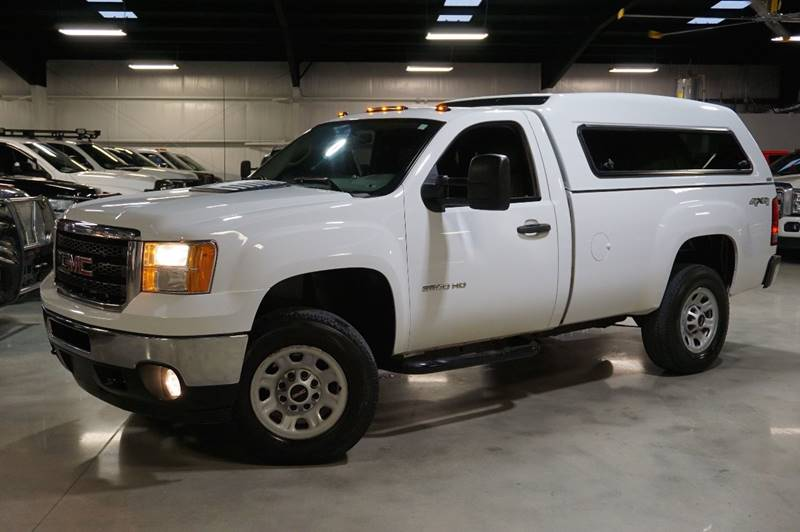 2011 GMC Sierra 3500HD 4x4 Work Truck 2dr Regular Cab SRW - Houston TX