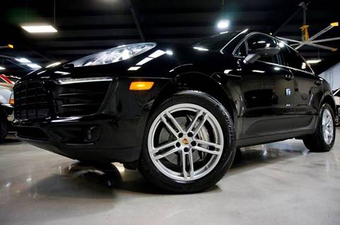 2015 Porsche Macan for sale at Diesel Of Houston in Houston TX