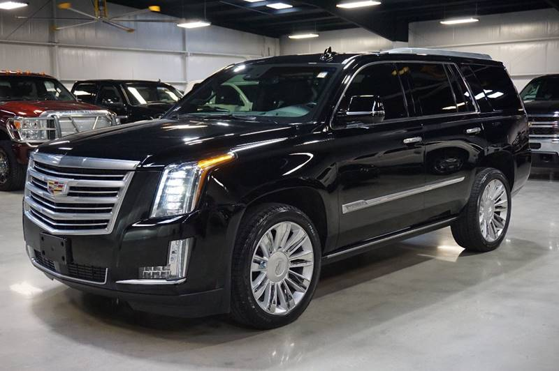 2016 cadillac escalade 4x4 platinum 4dr suv in houston tx diesel of houston. Black Bedroom Furniture Sets. Home Design Ideas