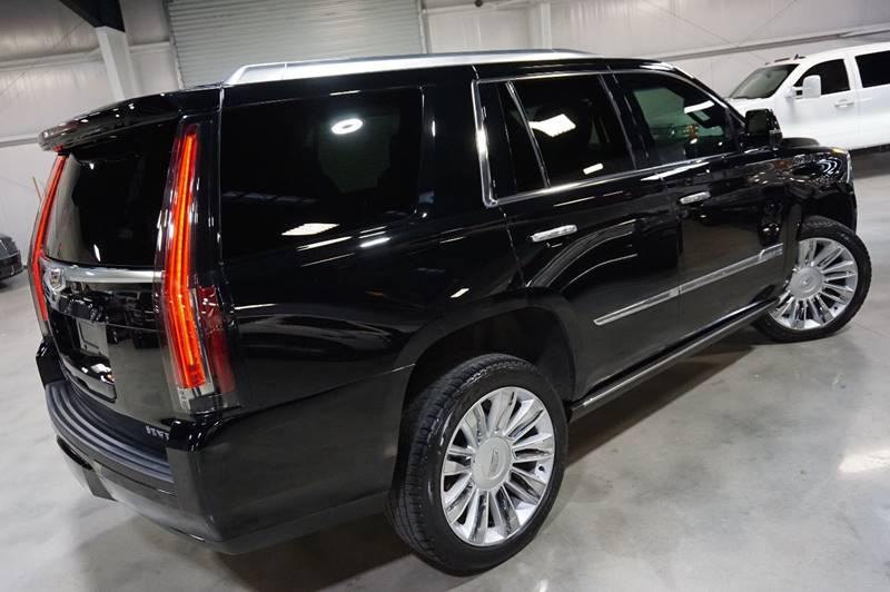 2016 Cadillac Escalade 4X4 Platinum 4dr SUV In Houston TX