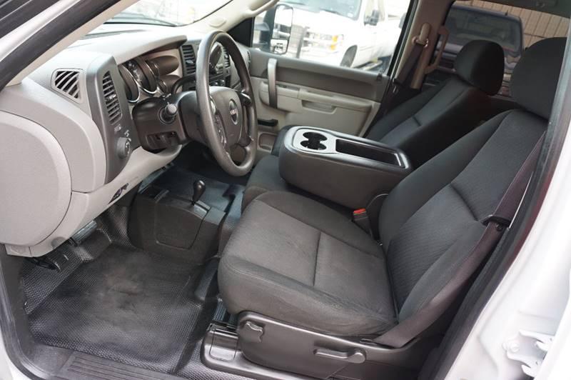 2012 GMC Sierra 2500HD 4x4 Work Truck 4dr Crew Cab LB - Houston TX