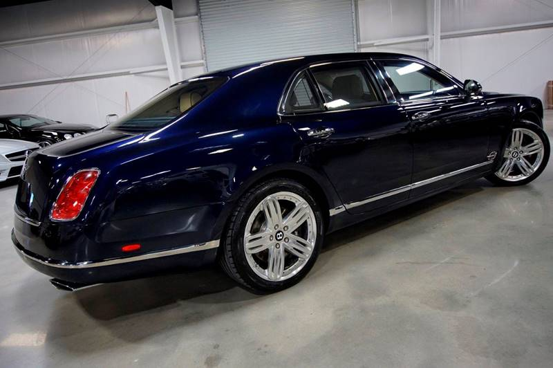 2013 Bentley Mulsanne 4dr Sedan In Houston TX - Diesel Of Houston