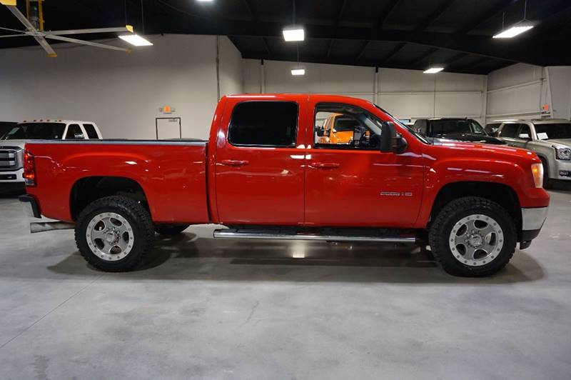 2013 GMC Sierra 2500HD 4x4 SLT 4dr Crew Cab SB - Houston TX