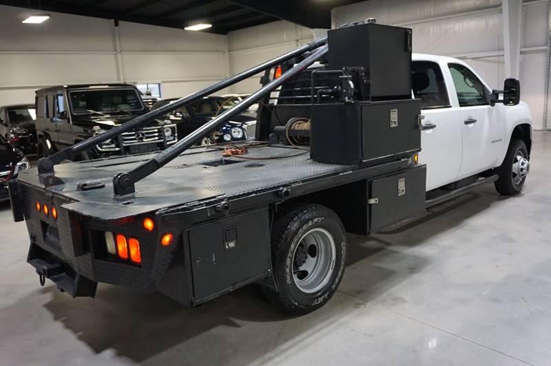 2011 GMC Sierra 3500HD CC 6.6L LML DURAMAX TURBO DIESEL, 4X4, 6SPD ALLISON, FLAT BED, 75K, 1-OWNER, TEXAS, CARFAX - Houston TX