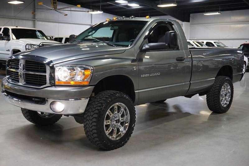 2006 Dodge Ram Pickup 2500 SLT 2dr Regular Cab 4WD LB - Houston TX
