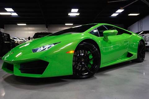 2016 Lamborghini Huracan for sale in Houston, TX