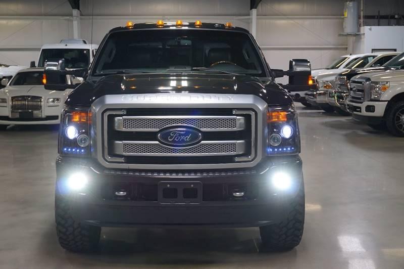 2014 Ford F-350 Super Duty 4x4 Platinum 4dr Crew Cab 8 ft. LB DRW Pickup - Houston TX