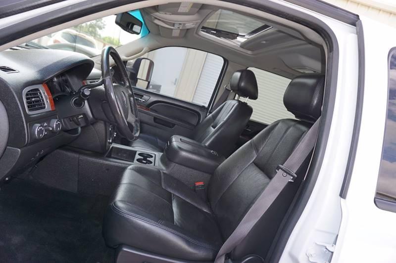 2012 GMC Sierra 2500HD 4x4 SLT 4dr Crew Cab SB - Houston TX