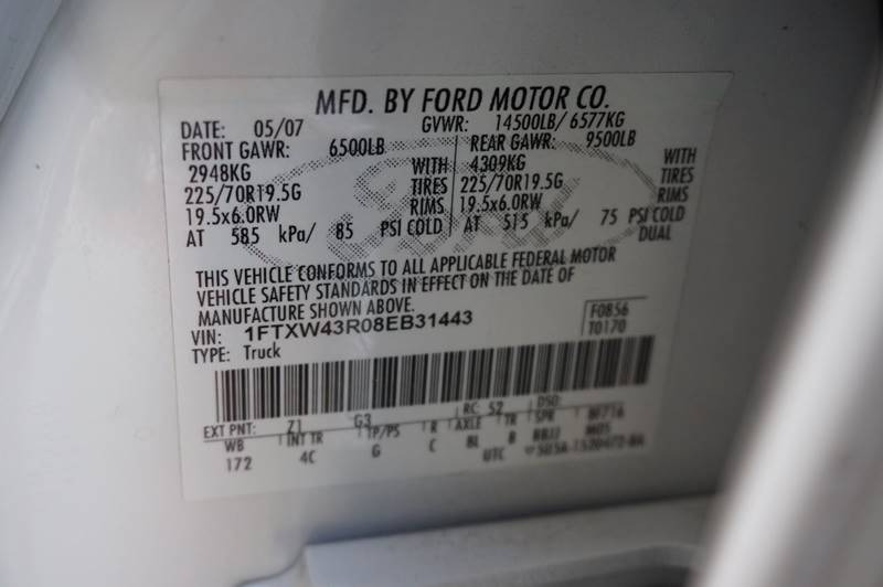 2008 Ford F-450 Super Duty Lariat 4dr Crew Cab 4WD LB DRW - Houston TX