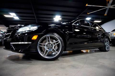 2012 Mercedes-Benz CLS for sale at Diesel Of Houston in Houston TX
