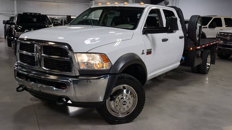 2012 RAM Ram Chassis 5500 DIESEL , 4X4, FLAT BED - Houston TX