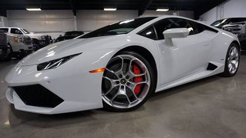 2015 Lamborghini Huracan for sale at Diesel Of Houston in Houston TX
