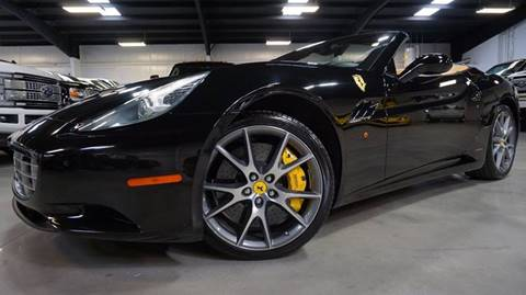 2014 Ferrari California for sale at Diesel Of Houston in Houston TX