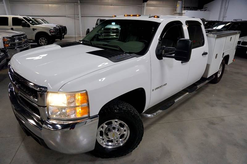 2009 Chevrolet Silverado 2500HD 4x4 Work Truck 4dr Crew Cab LB - Houston TX