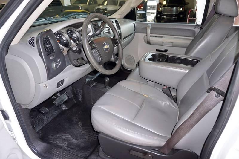 2009 Chevrolet Silverado 2500HD 4x4 Work Truck 4dr Crew Cab LB - Houston TX