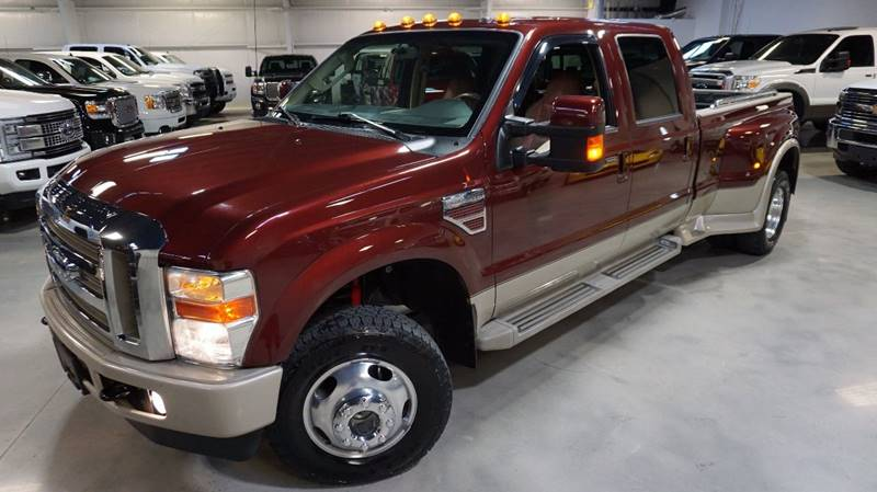 2010 Ford F-350 Super Duty 4x4 King Ranch 4dr Crew Cab 8 ft. LB DRW Pickup - Houston TX