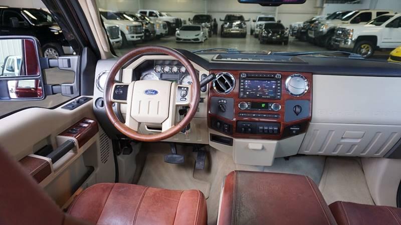 2010 Ford F-350 Super Duty 4x4 King Ranch 4dr Crew Cab 8 ft. LB DRW Pickup - Houston TX