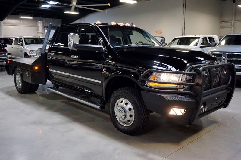 2013 RAM Ram Pickup 3500 4x4 Laramie Longhorn 4dr Crew Cab 8 ft. LB Pickup - Houston TX