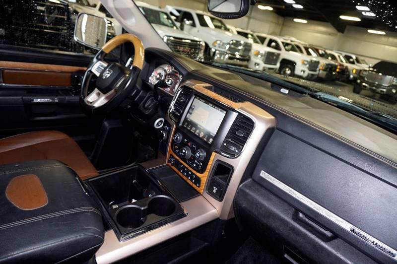 2013 RAM Ram Pickup 3500 4x4 Laramie Longhorn 4dr Crew Cab 8 ft. LB Pickup - Houston TX