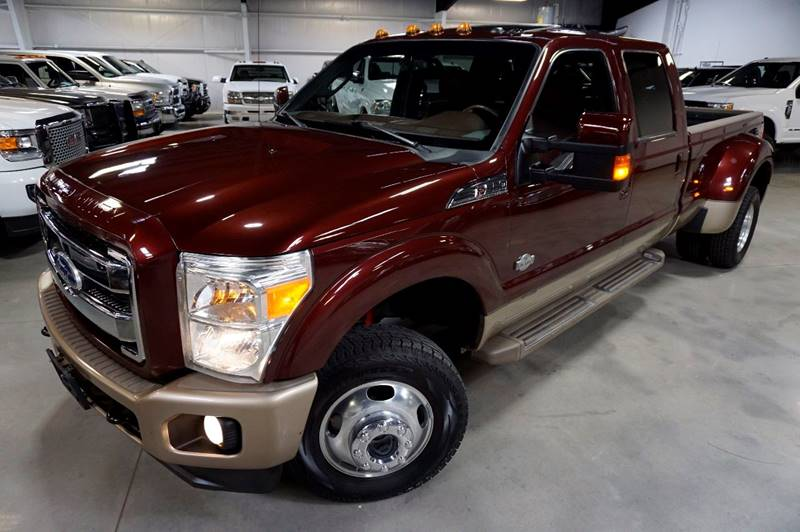 2011 Ford F-350 Super Duty 4x4 King Ranch 4dr Crew Cab 8 ft. LB DRW Pickup - Houston TX