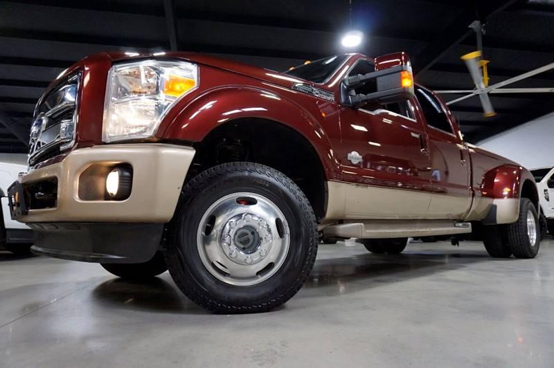 2011 Ford F-350 Super Duty 4x4 King Ranch 4dr Crew Cab 8 ft. LB DRW Pickup - Houston TX